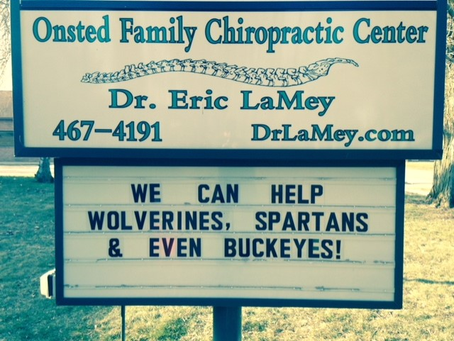 Dr. Eric LaMey Chiropractor Onsted Michigan